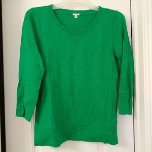 Kelly green cotton shirt